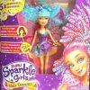 Children's Toys - Zuru Sparkle Girlz Hair Styling Doll Head With Accessories for Kids and children. Blue hair doll sparkle girls